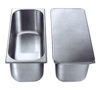 Vaschette in acciaio inox