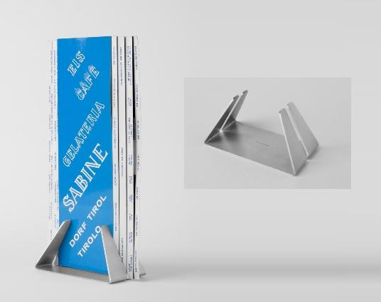 NEUMANN Portalistino serie 5319 in acciaio inox